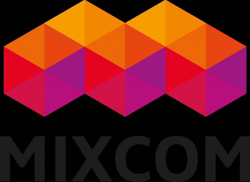 MIXCOM LOGO HANDTEKENING